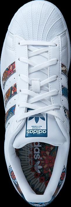 Kjøp adidas Originals Superstar W Ftwr White/Ftwr White/Noble Te Hvite Sko Online