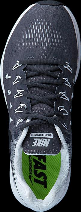 Kjøp Nike Wmns Air Zoom Pegasus 33 Dark Grey/black/white Blå Sko Online