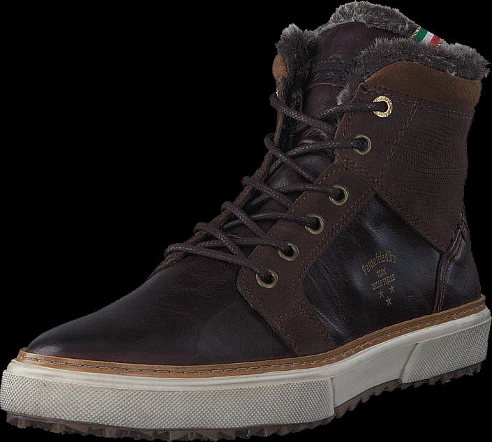 Kjøp Pantofola dOro Benevento Uomo Fur Mid Coffe Bean Brune Sko Online