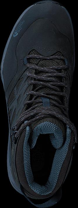 Kjøp The North Face Mens Hedgehog Hike Mid GTX Beluga Grey/ Dark Slate Blue Blå Sko Online