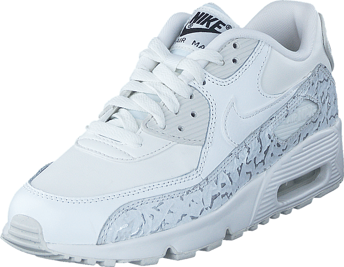 cheaper 8713c a679e Kjøp Nike Nike Air Max 90 Ltr Se Gg Summit White White-Black Hvite