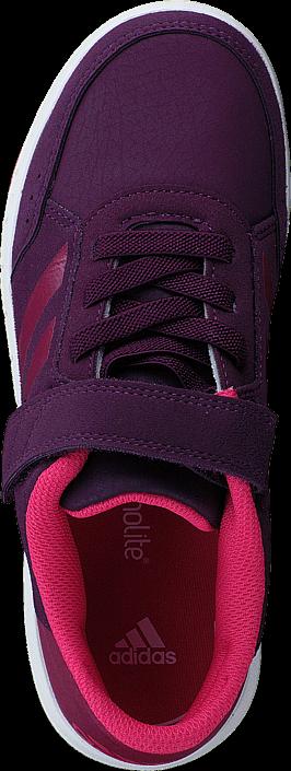 Kjøp adidas Sport Performance Altasport El K Red Night F17/Mystery Ruby F17 Lilla Sko Online