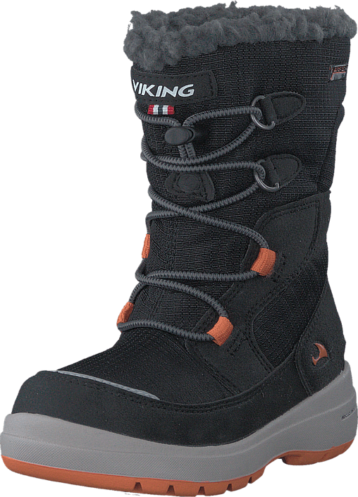 Kjøp Viking Totak GTX Black/Orange Svarte Sko Online