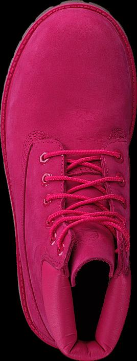 Kjøp Timberland 6 In Premium WP Boot Rose Red Waterbuck Rosa Sko Online