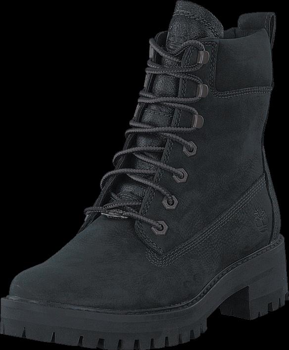 Kjøp Timberland Courmayeur Valley YBoot Black Earthybuck Svarte Sko Online