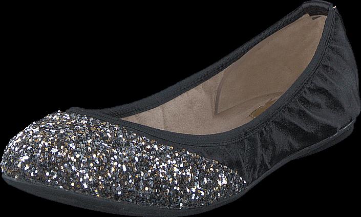 Kjøp Butterfly Twists Ashley Black/ Disco Glitter Gold Blå Sko Online
