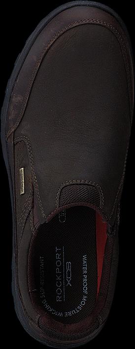 Kjøp Rockport Tt Wp Slipon Dark Brown Svarte Sko Online