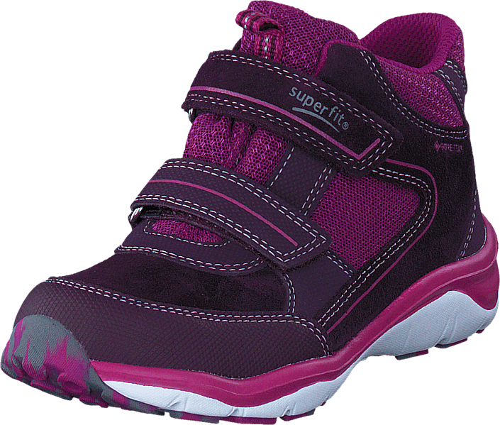 Kjøp Superfit Sport5 mid GORE-TEX® Plum/Pink Lilla Sko Online