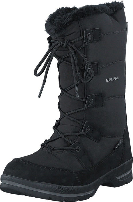 Kjøp Polecat 430-3907 Waterproof Warm Lined Black Svarte Sko Online