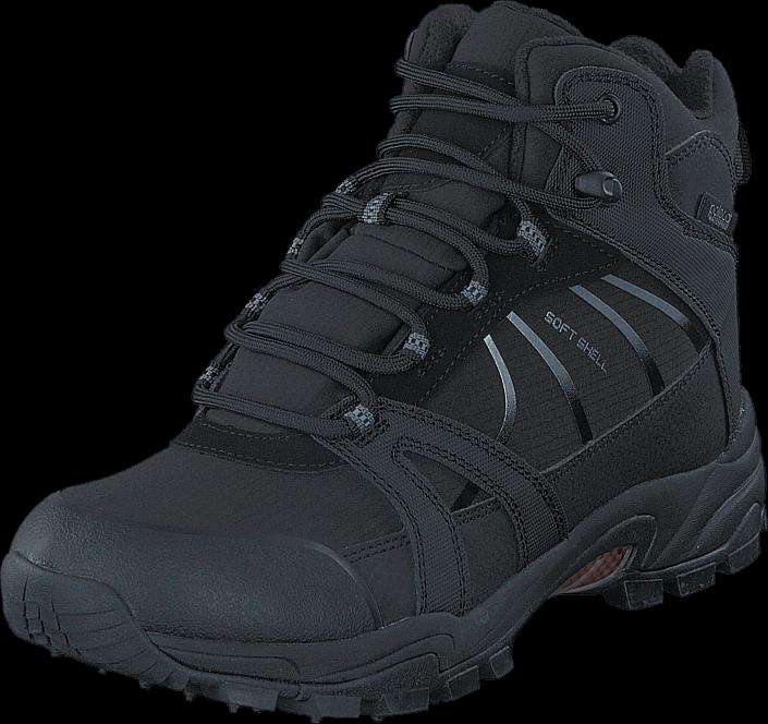 Kjøp Polecat 430-4401 Waterproof Warm Lined Black ICE-Tech Studs Grå Sko Online