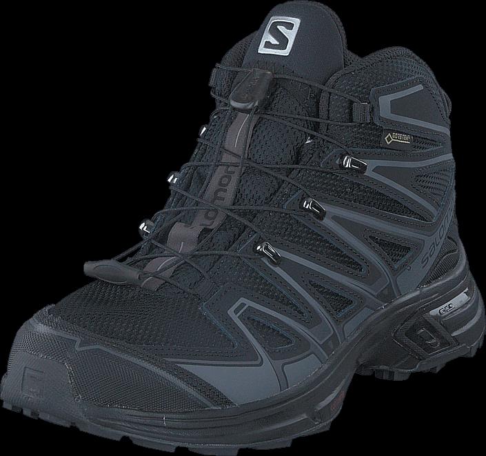Kjøp Salomon X-Chase Mid GTX® W Black/Black/Magnet Blå Sko Online