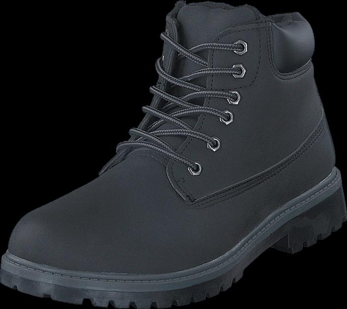 Kjøp Gulliver 438-7006 Warm Lining Black Blå Sko Online
