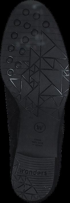 Kjøp Wonders Crosta Negro Black Svarte Sko Online