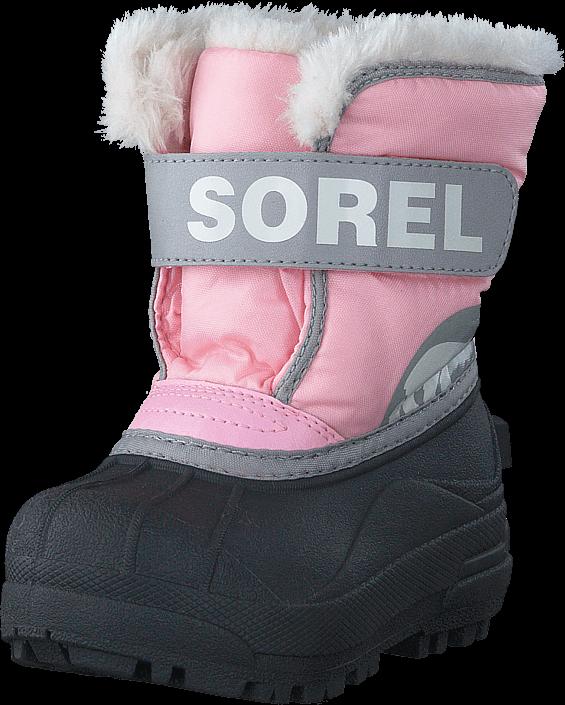 Kjøp Sorel Snow Commander Toddler 651 Cupid Dove Lilla Sko Online