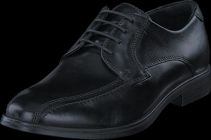 Kjøp Ecco 621604 Melbourne Black Grå Sko Online