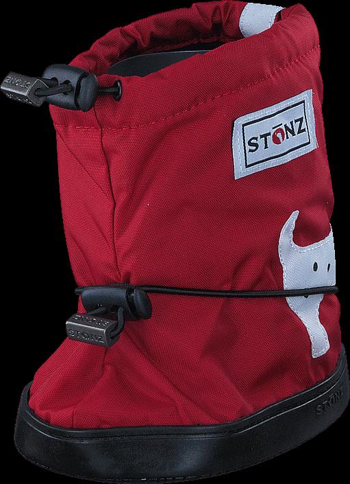 Kjøp Stonz Stonz Booties Spot Dog - Red Røde Sko Online