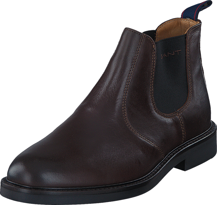 Kjøp Gant Spencer G46 Dark Brown Leather Brune Sko Online