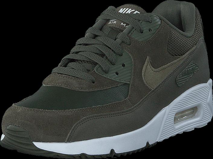Kjøp Nike Air Max 90 Ultra 2.0 Ltr Cargo Khaki/Medium/White Grå Sko Online