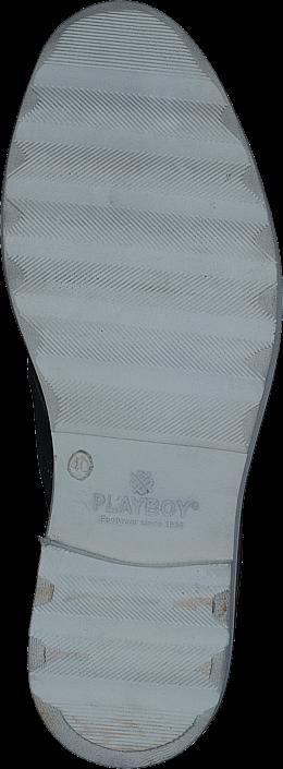 Kjøp Playboy 58352 Navy Suede Blå Sko Online