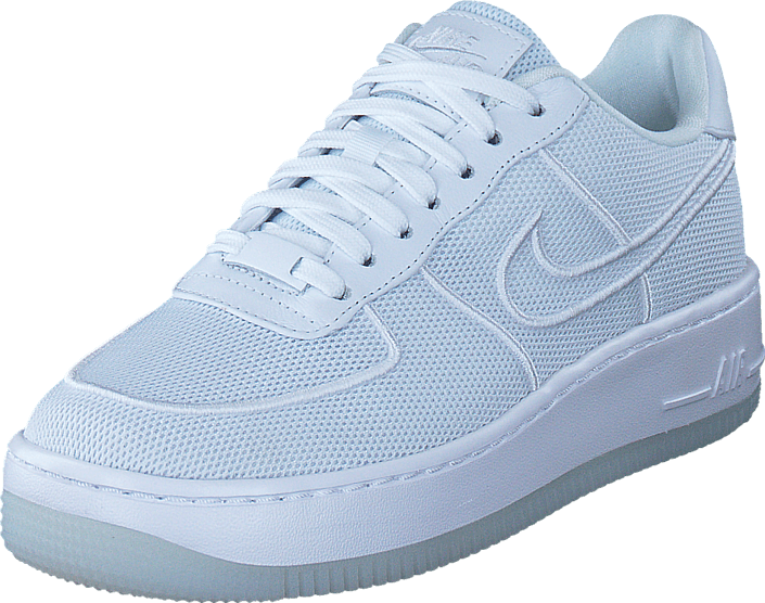 new style bcec3 ea4dc Kjøp Nike Air Force 1 Low-top Upstep Br White white-glacier Blue