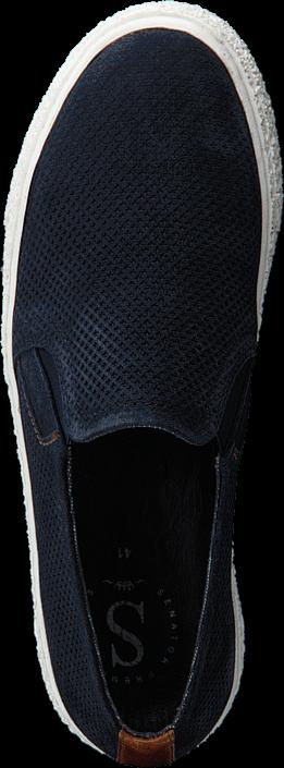 Kjøp Senator 451-1501 Premium Navy Blue Blå Sko Online