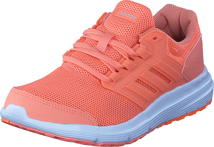 Kjøp adidas Sport Performance Galaxy 4 W Chalk Coral/Trace Orange S18 Rosa Sko Online