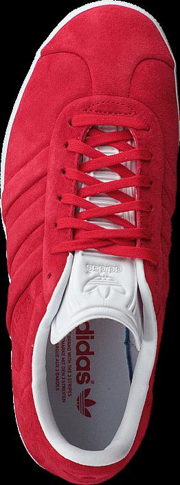 Kjøp adidas Originals Gazelle Stitch And Turn Collegiate Red/Ftwr White Røde Sko Online