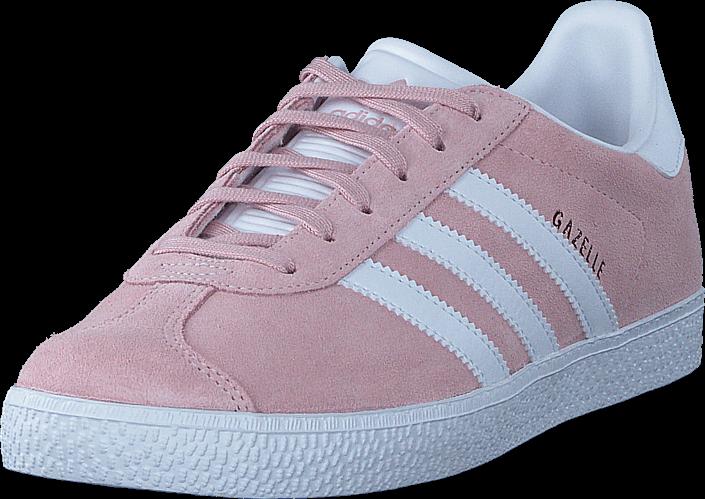 Kjøp adidas Originals Gazelle J Icey Pink F17/White/Gold Met Rosa Sko Online