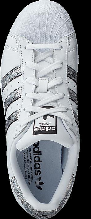 Kjøp adidas Originals Superstar W FtwrWhite/SupplierColour/Black Hvite Sko Online