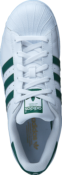 Kjøp adidas Originals Superstar Ftwr Wht/Collegiate Green/Wht Blå Sko Online