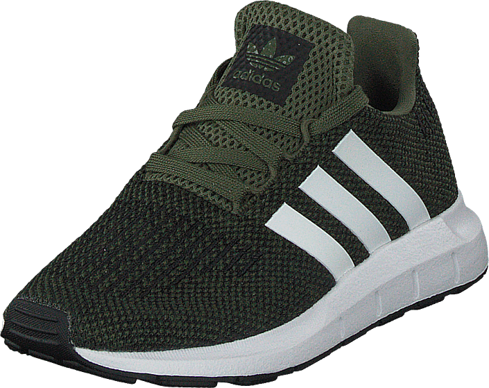 Kjøp adidas Originals Swift Run C Base Green/White/Core Black  Sko Online
