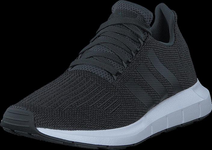 Kjøp adidas Originals Swift Run Carbon/Core Black/Grey Heather Svarte Sko Online