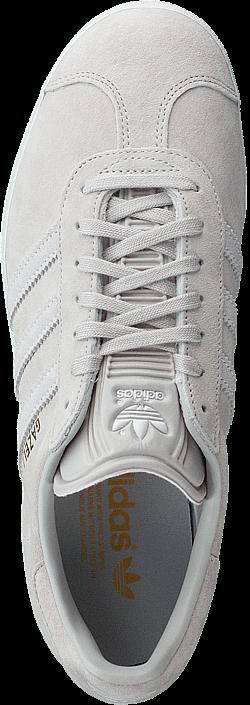 Kjøp adidas Originals Gazelle W Grey One/Ftwr White/Grey Two Hvite Sko Online