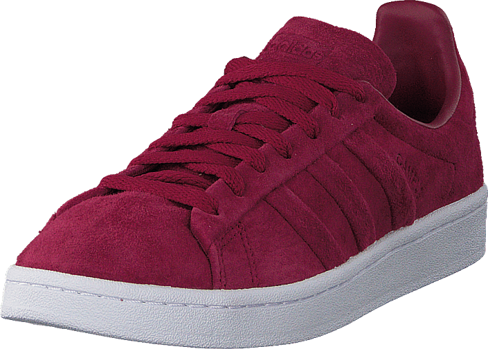 Kjøp adidas Originals Campus Stitch And Turn Mystery Ruby F17/Ftwr White Røde Sko Online