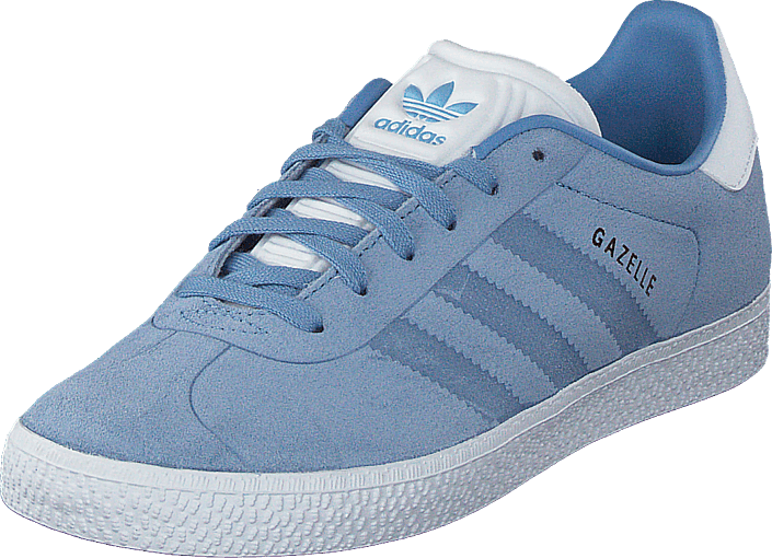 3d7625001dc Kjøp adidas Originals Gazelle J Ash Blue S18/Ftwr White Blå Sko Online