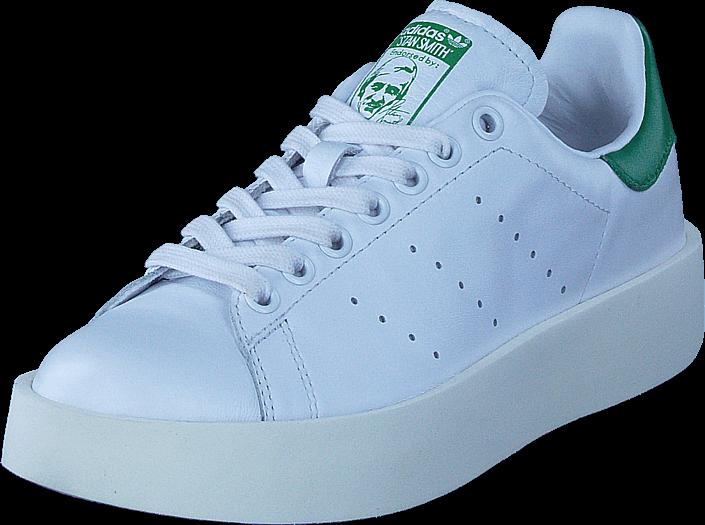 Kjøp adidas Originals Stan Smith Bold W Ftwr White/Ftwr White/Green Blå Sko Online