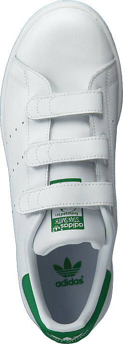 Kjøp adidas Originals Stan Smith Cf J Ftwr White/Ftwr White Hvite Sko Online