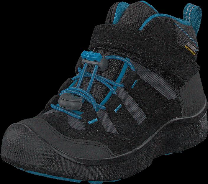 Kjøp Keen Hikeport Mid Wp Black/blue Jewel Svarte Sko Online