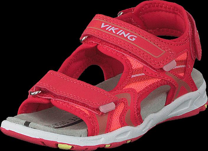6ec316d17bc375 Kjøp Viking Anchor Dark Pink Coral Røde Sko Online ...