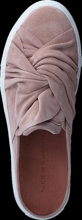 Kjøp Nude Lotta Velour Sahara Rosa Sko Online