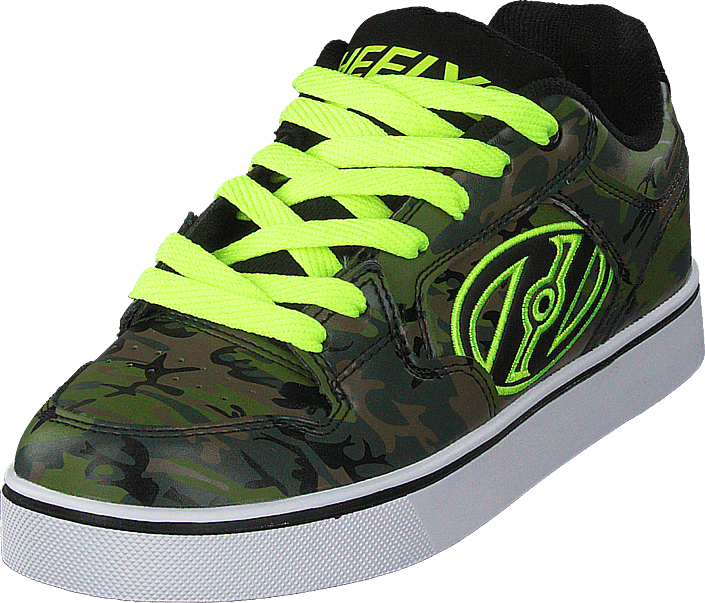 Kjøp Heelys Heelys Motion Plus Green Camo/bright Yellow Brune Sko Online