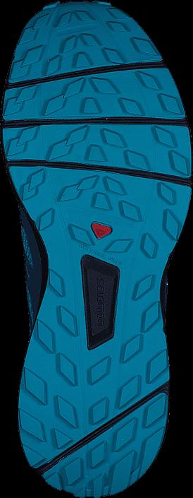 Kjøp Salomon Sense Ride W Bluebird/DeepLagoon/NavyBlazer Blå Sko Online