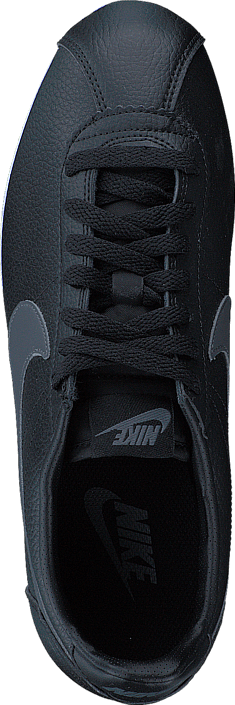 Kjøp Nike Classic Cortez Leather Black/dark Grey/white Grå Sko Online