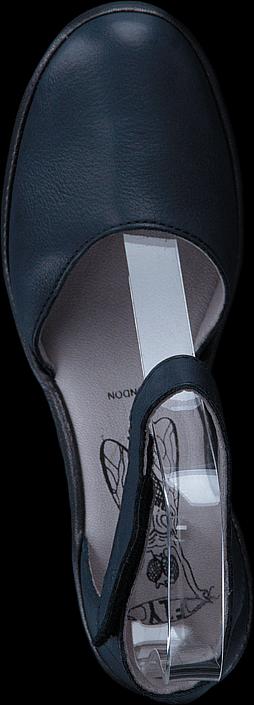 Kjøp Fly London Yand709fly Navy (black) Blå Sko Online