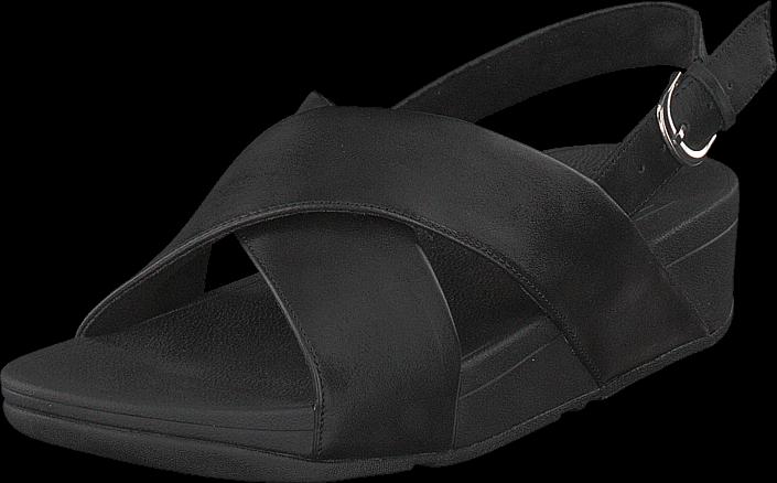 Kjøp Fitflop Lulu Cross SDL Black Svarte Sko Online