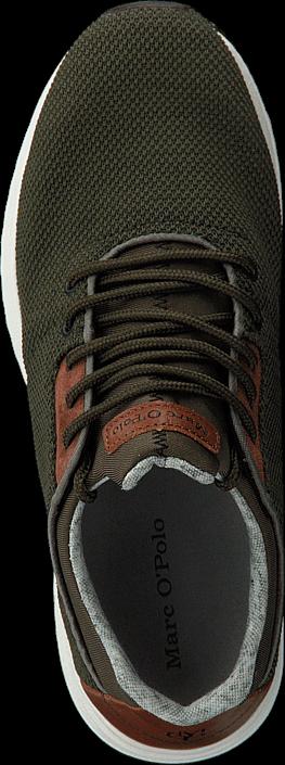 Kjøp Marc O'Polo Jasper 4C Olive Multi Brune Sko Online