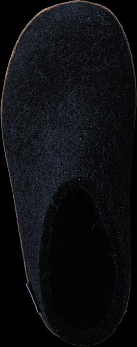 Kjøp Glerups Open Heel Charcoal Blå Sko Online