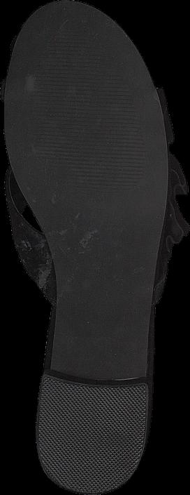 Kjøp Bianco Slip In Sandal Black Svarte Sko Online