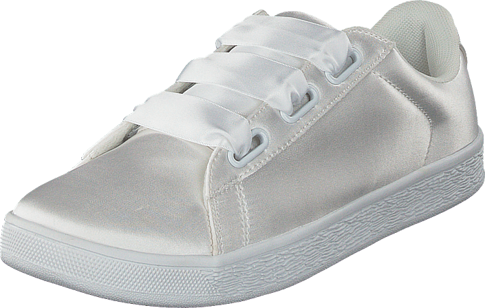 Kjøp Sneaker Bianco Satin White Hvite Sko Online OPikuTXZ