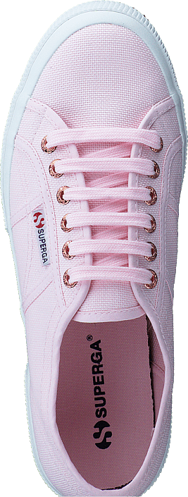 Kjøp Superga 2750-cotu Classic Pink Rose Gold Hvite Sko Online